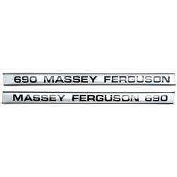 Massey Ferguson Typenschild (1680925M1)
