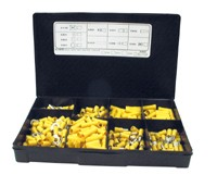 Kabelverbinder Sortiment Gelb