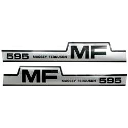 Massey Ferguson Typenschild (1698132M1)