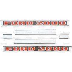 Ford Typenschild (81822597)