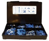 Kabelverbinder Sortiment Blau