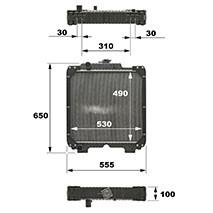 Ford Kühler (84519000)
