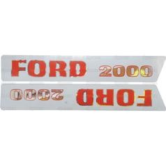 Ford Typenschild (81814375)