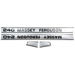 Massey Ferguson Typenschild (1681728M2)