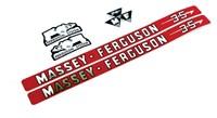 Massey Ferguson Typenschild (3406970M91)