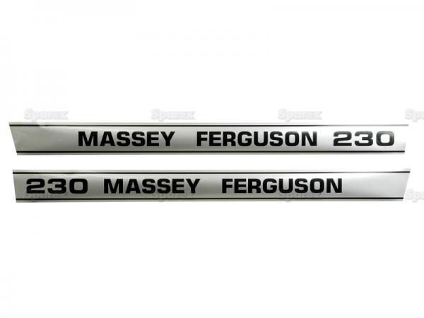 Massey Ferguson Typenschild (1683694M1)
