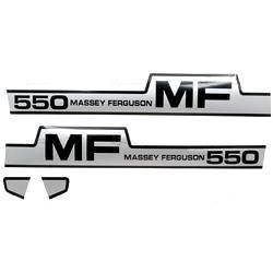 Massey Ferguson Typenschild (1698124M1)