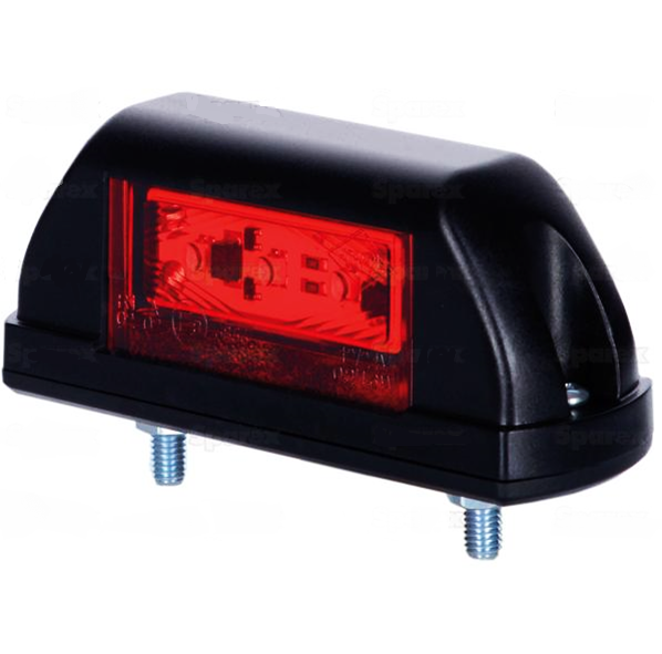 LED Positionsleuchte Rot/Weiß