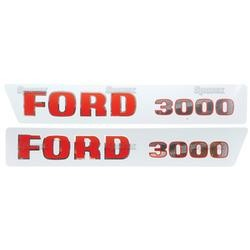 Ford Typenschild (81814376)