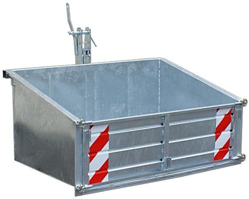 Heckcontainer verzinkt, HL 150